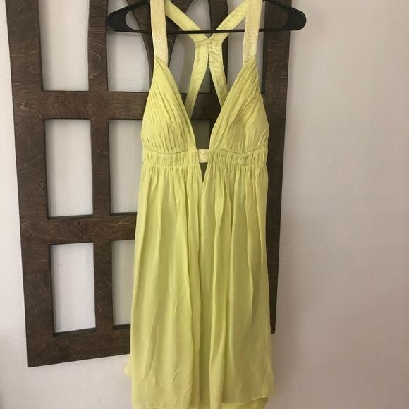 Cache Dresses & Skirts - Cache green mini backless dress 6